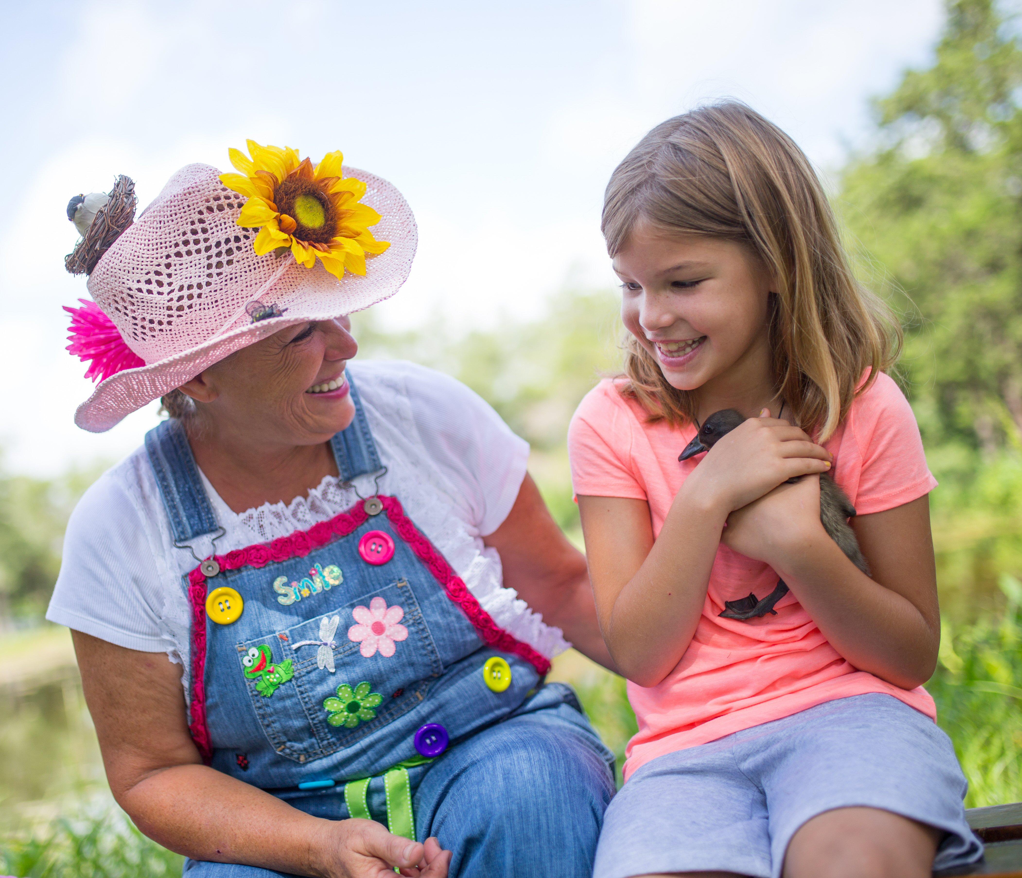 Sunflower Suzie and Patty Potty